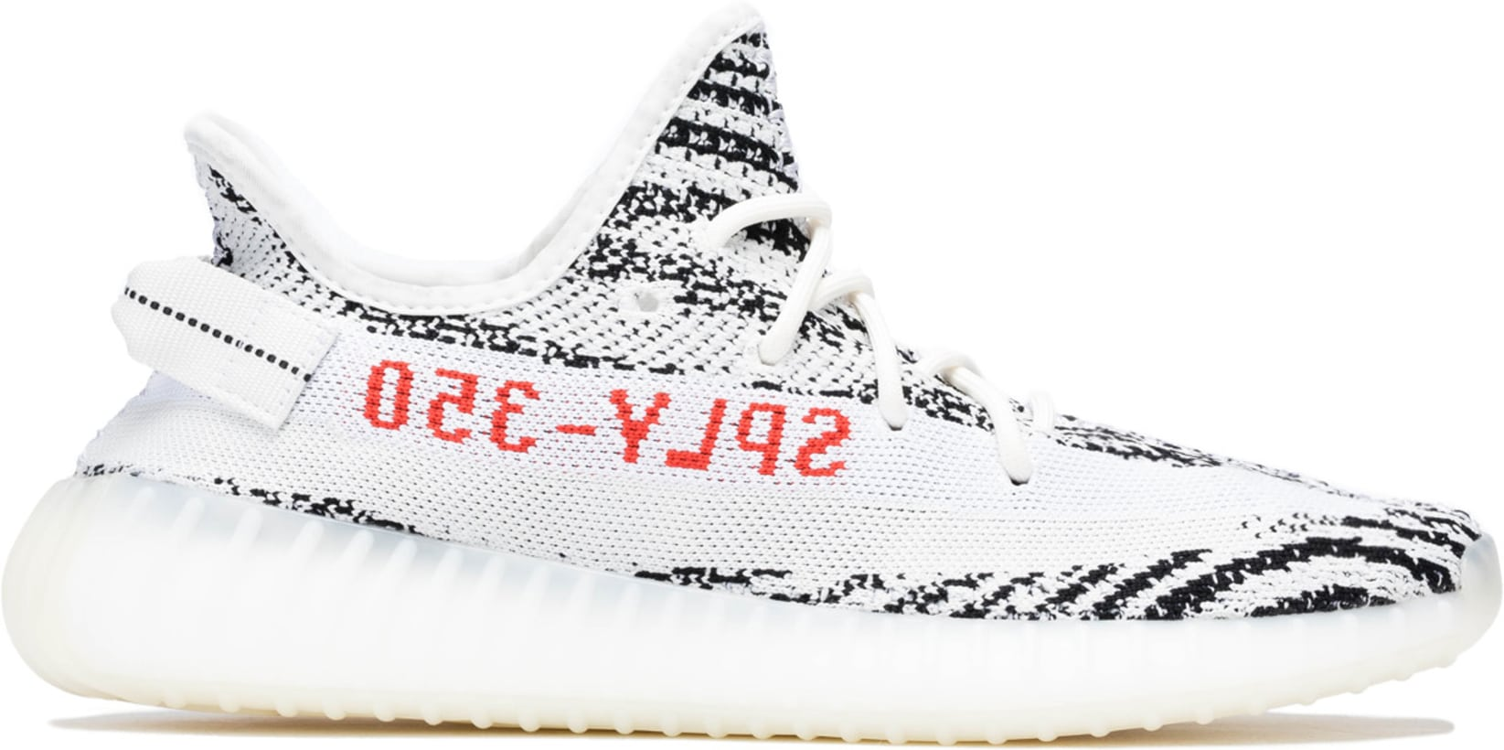 new style 66cf2 e6ee1 YEEZY - Yeezy Boost 350 V2 - White/Core Black/Red