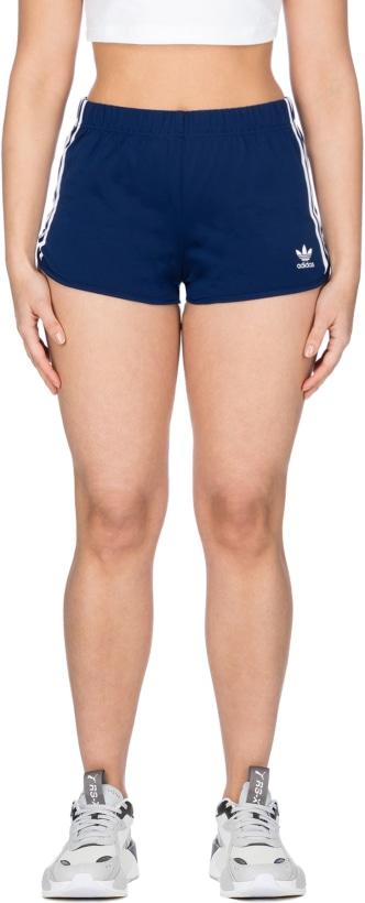 fc7500768d099 adidas Originals: 3-Stripes Shorts - Dark Blue | influenceu