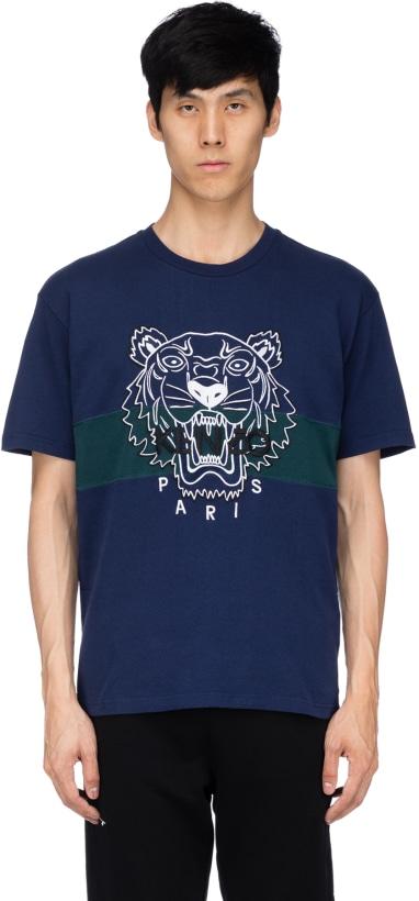 ce10841e Kenzo: Urban Tiger T-Shirt - Ink | influenceu