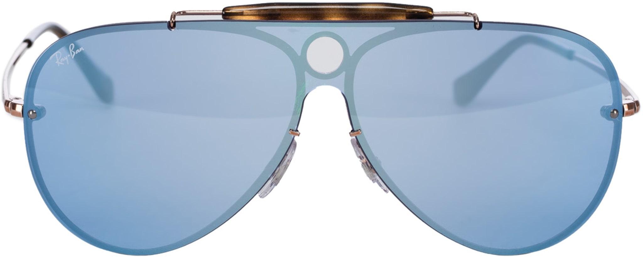 5157213fee Ray-Ban  Blaze Shooter Sunglasses - Bronze Copper Violet Mirror ...