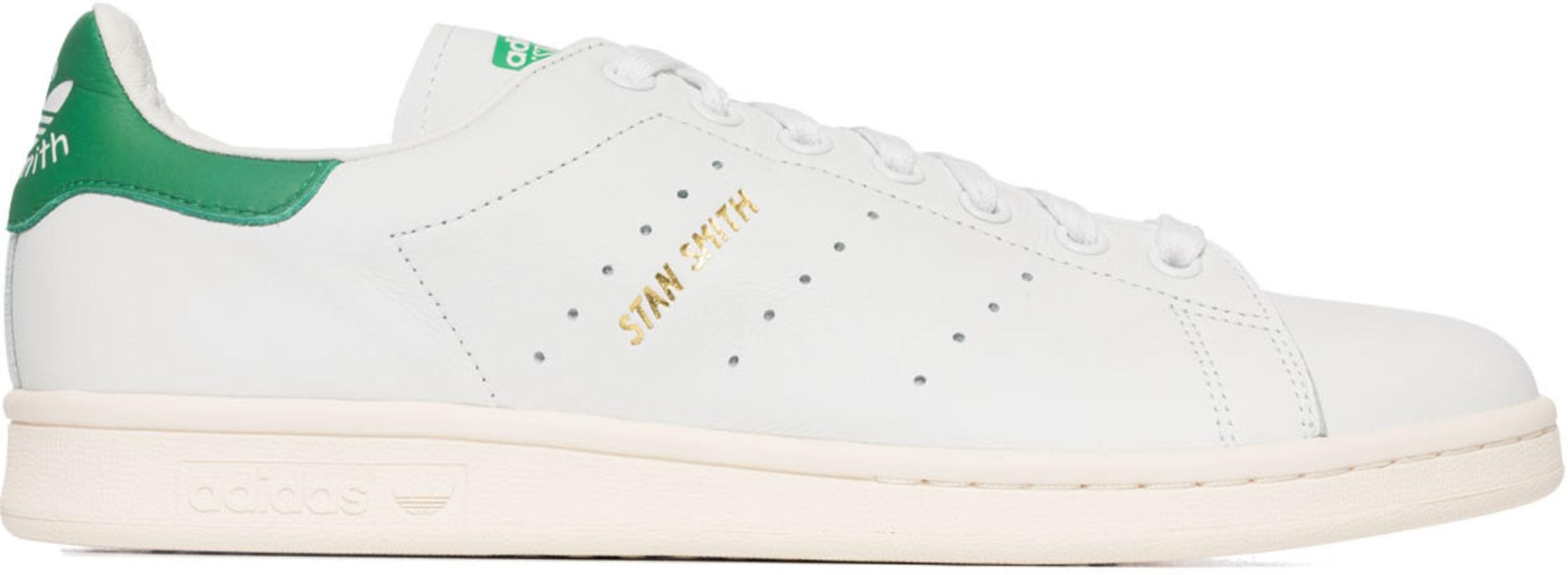 b12a5974dbb adidas Originals: Stan Smith - Cloud White/Cloud White/Green ...