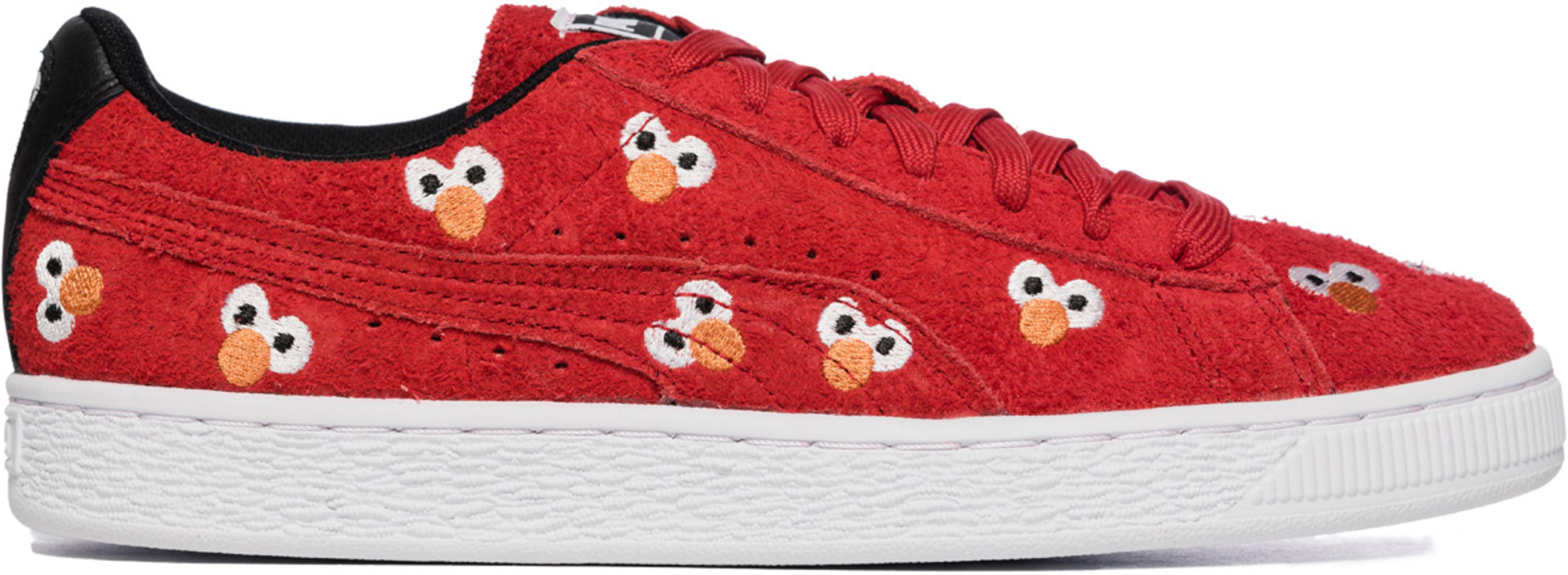 942e5d5e15d Puma  Puma x Sesame Street Suede - High Risk Red