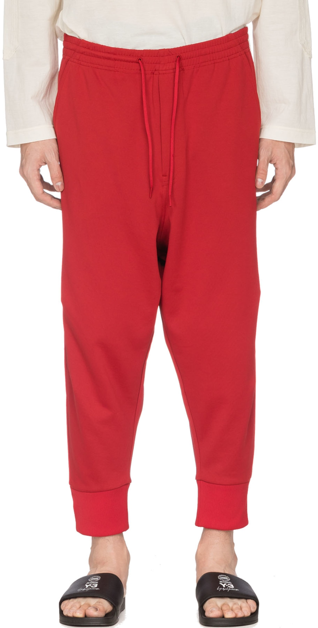180d14fb9 Y-3  3-Stripes Track Pants - Chili Pepper Red