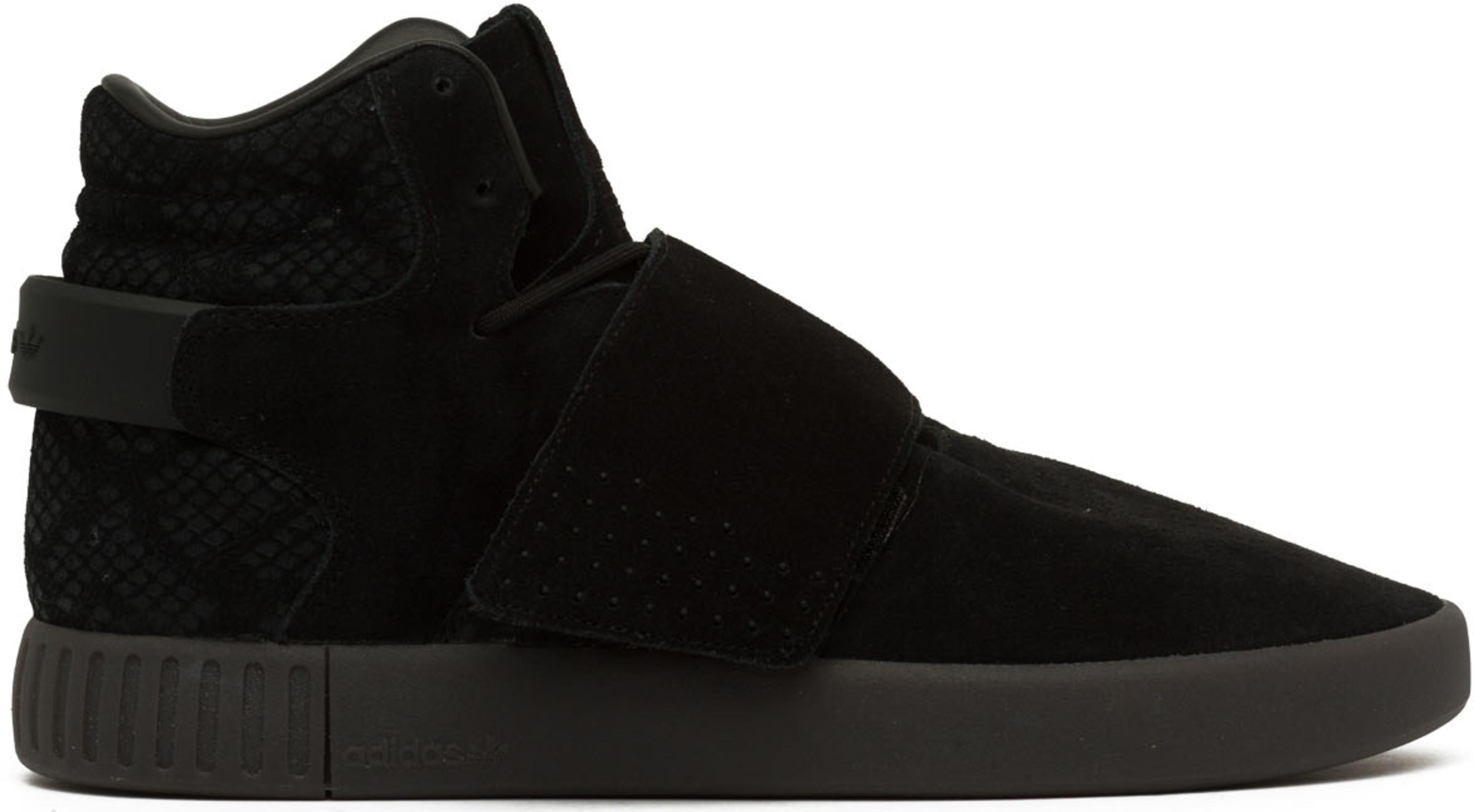 finest selection 4528c 76e6e adidas Originals - Tubular Invader Strap - Core Black/Utility Black
