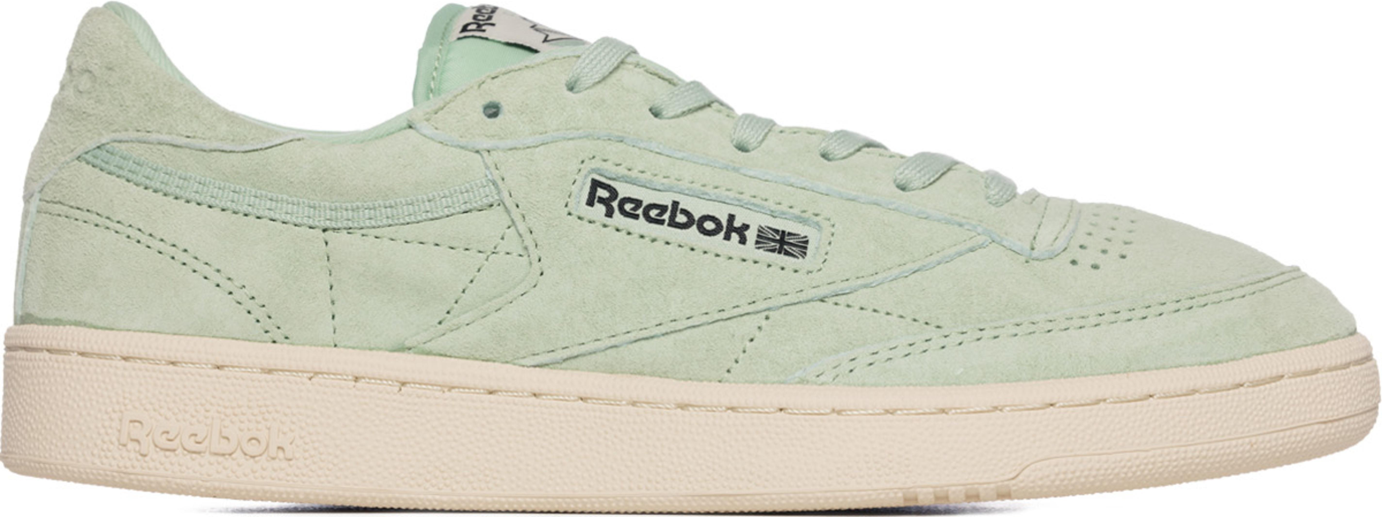 hot sale online 120bb 4160f Reebok - Reebok Club C85 Pastels - Sage Mist/Paper White
