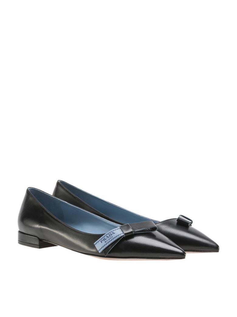 Prada A Chaussures De Ballerine - Noir 5hBvKXBM2y