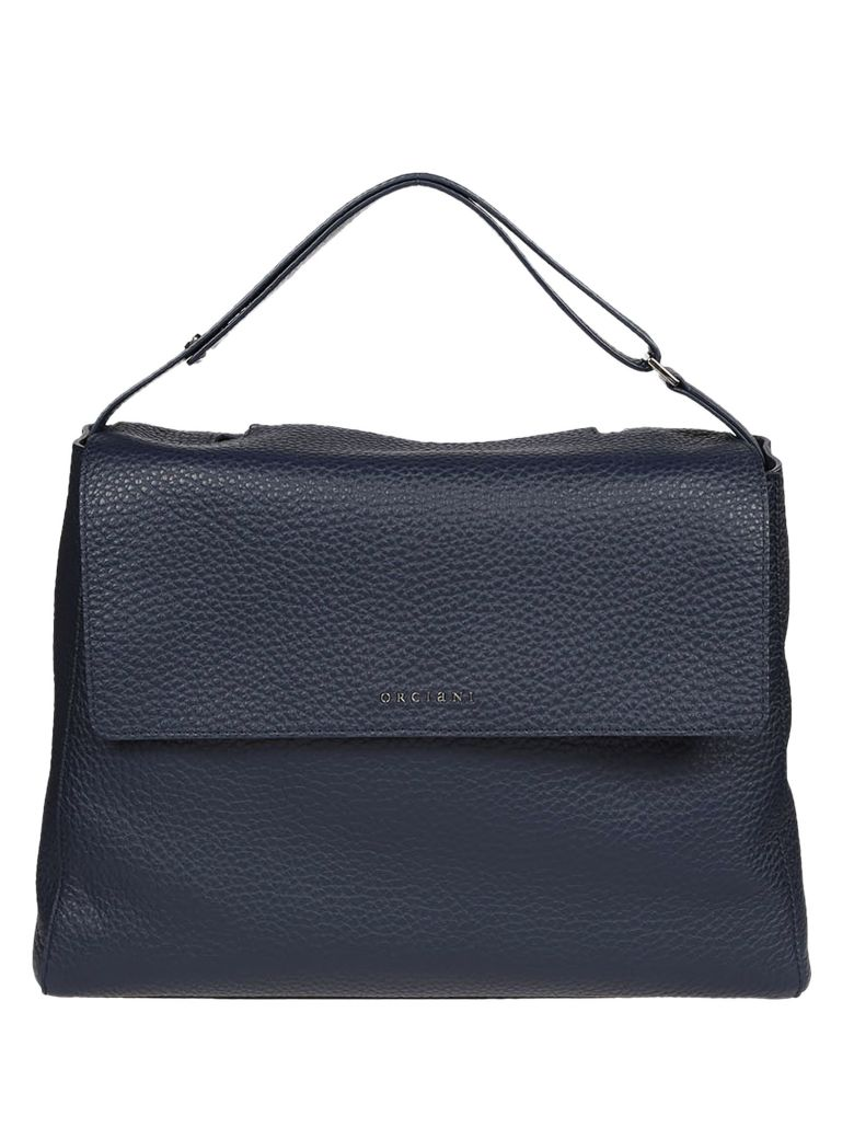Shoulder Bag for Women On Sale, navy, Leather, 2017, one size Orciani