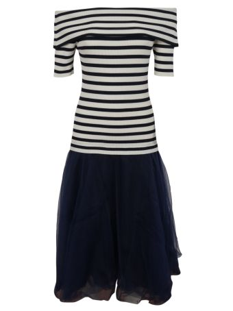 Parosh Striped Dress