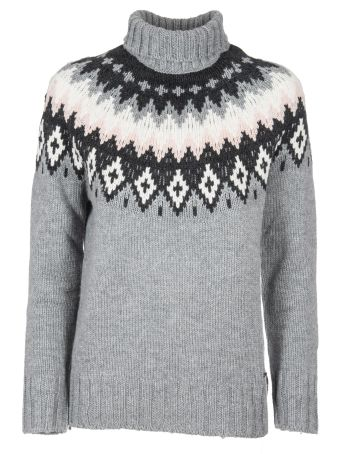 Woolrich Intarsia Roll-neck Jumper