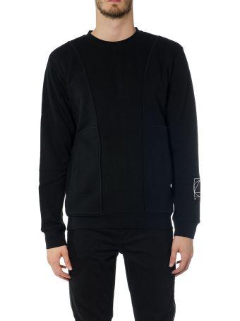 McQ Alexander McQueen Inside Out Cotton Jersey Sweatshirt