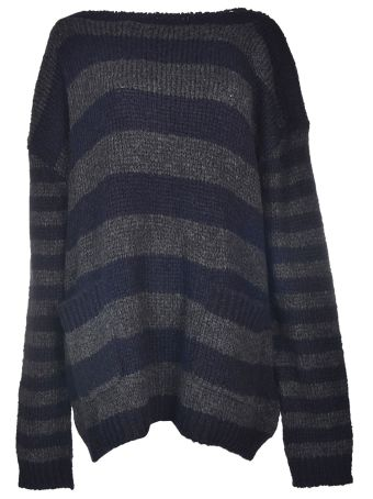Faith Connexion Oversized Striped Sweater