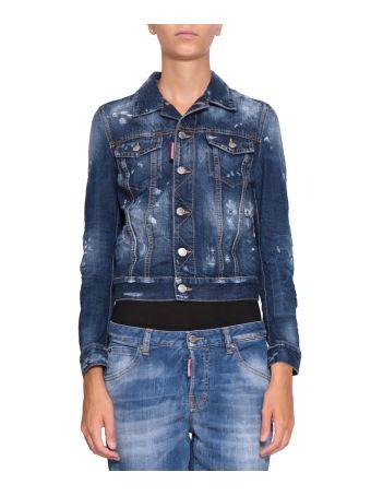 Dsquared2 Cotton Denim Jacket