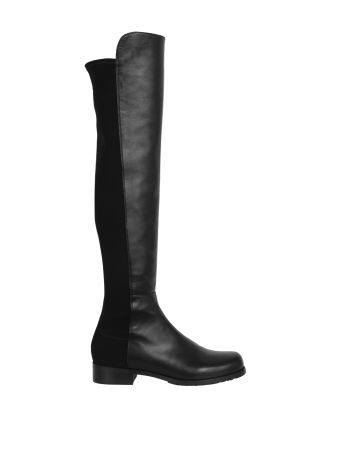 Stuart Weitzman 5050 Leather And Suede Boots