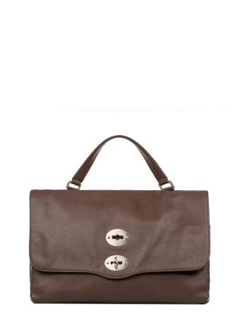 Chocolate Medium Soft Marsiglia Leather Top Handle Bag