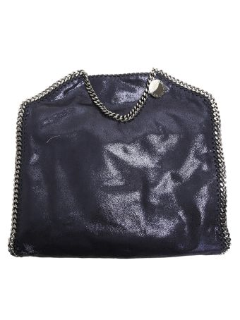 Falabella Triple Chain Faux Leather Bag