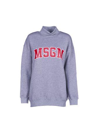 Msgm Roll Neck Sweatshirt