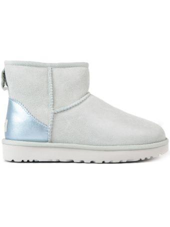 UGG Mini Metallic Ankle Boots