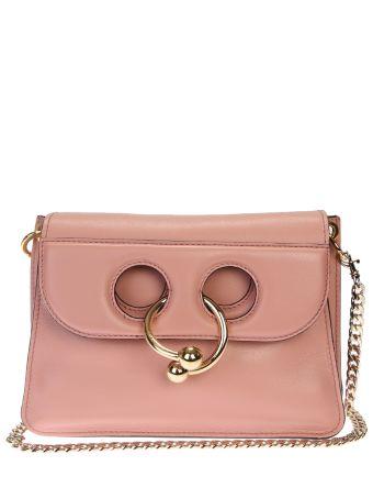 Mini Pierce Leather Shoulder Bag