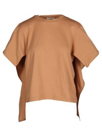 Céline Layered Look Handkerchief Hem T-shirt