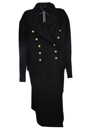 Rochas Double Breasted Long Coat