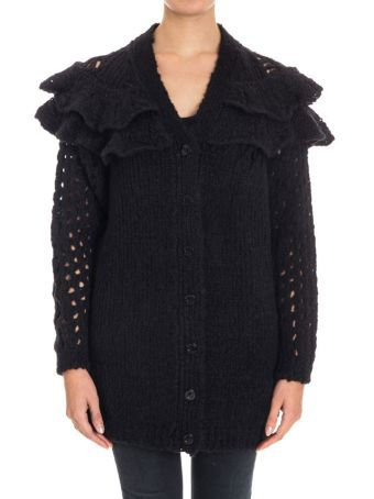 Boutique Moschino Cardigan In Wool Lane