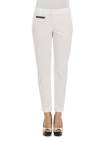 Brunello Cucinelli - Cotton Stretch Trousers