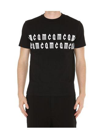 Mcq Alexander Mcqueen Side Mcq Band Tshirt