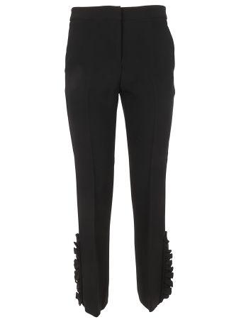 N.21 Ruffle Detail Trousers
