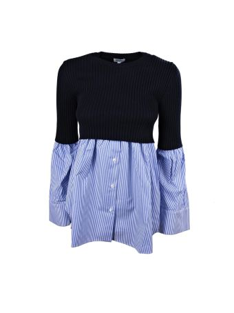 Kenzo Long Sleeves Top Mix Knit