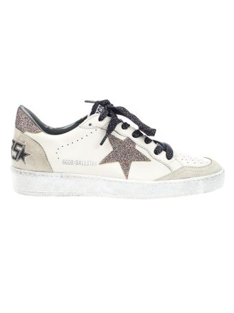 Golden Goose Golden Goose Deluxe Brand Glitter Star Sneakers