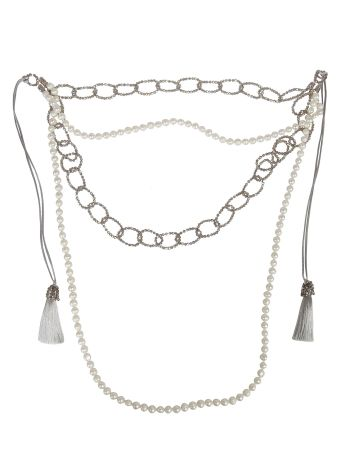 Night Market Night Market Pearl And Bead Layered Necklace