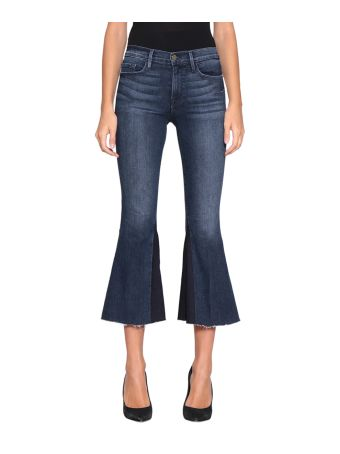 Frame Cropped Cotton Denim Jeans