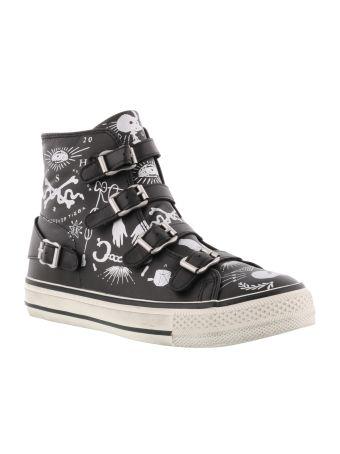 Ash Virgin Skull Sneaker