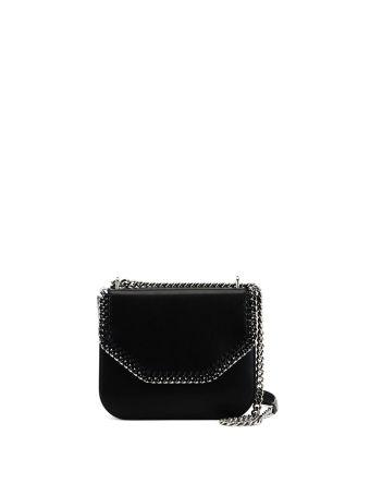 Black Alter Nappa Falabella Box Bag