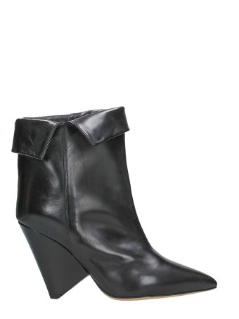 Isabel Marant Black Luliana Ankle Boots
