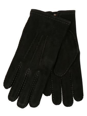 Restelli Suede Deer Gloves