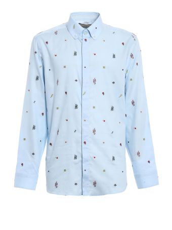 Gucci Iconic Elements Oxford Tailored Shirt