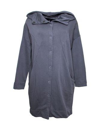 Altalana 100% Cotton Sweatshirt Hoodie Trench