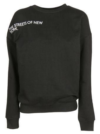 Each X Other Sleeve Lettering Sweatshirt