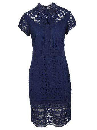 Sea Lace Midi Dress