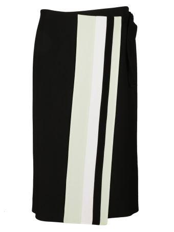 Victoria Beckham Stripe Detail Skirt