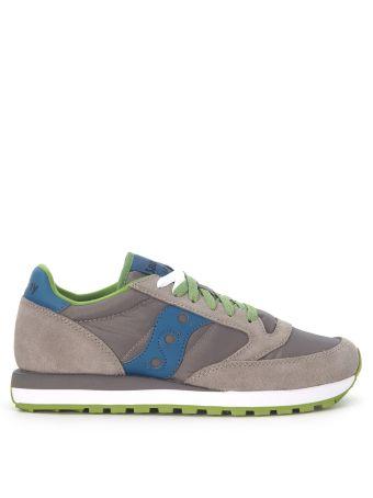 Sneaker Saucony Jazz In Suede And Grey Nylon