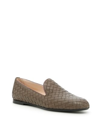 Woven Nappa Loafers