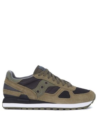 Saucony Shadow Suede And Mesh Sneaker