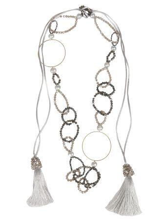 Night Market Night Market Ring Long Necklace