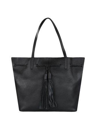 Rebecca Minkoff Drawstring Tote Leather Bag