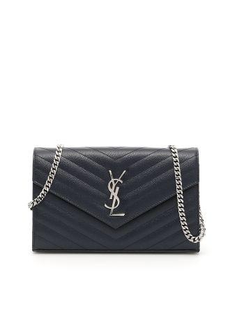 Matelassé Monogram Envelope Mini Bag