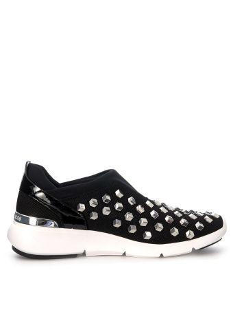 Michael Kors Ace Black Slip On Sneakers