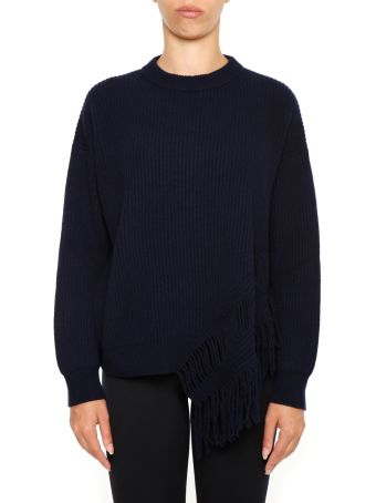 Crew Neck Pull With Fringes