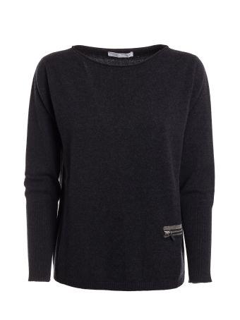 Fabiana Filippi Zip Pocket Sweater